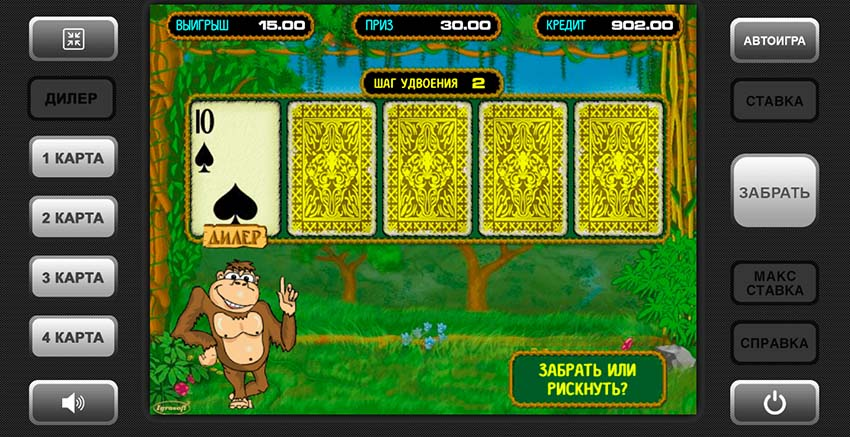 gamble game Crazy Monkey