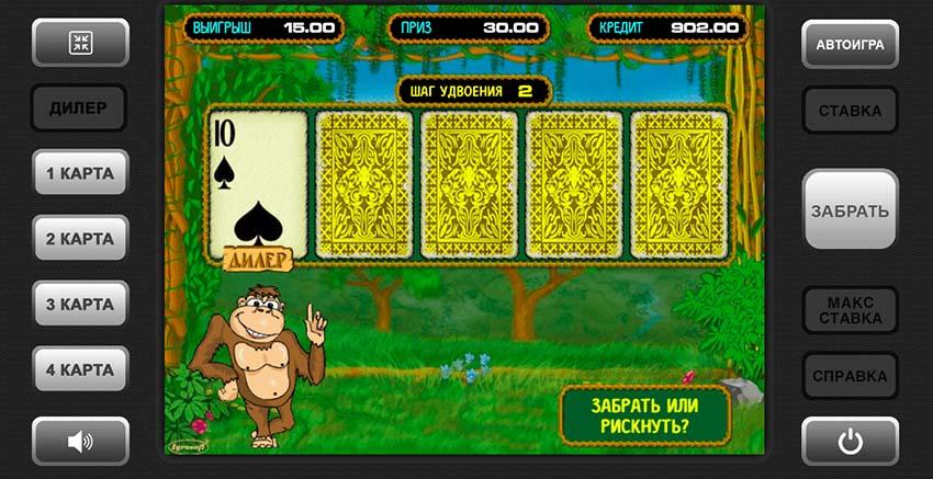 gamble game Crazy Monkey